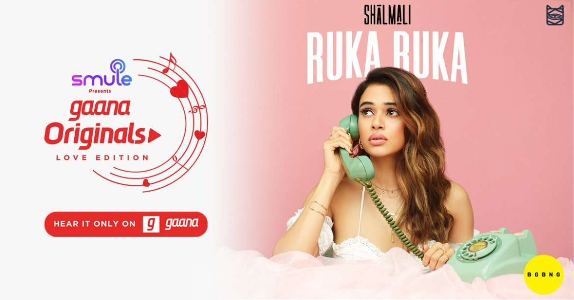 Ruka Ruka – Shalmali ft. Sunny M.R. | Aparshakti Khurana | Gaana Originals