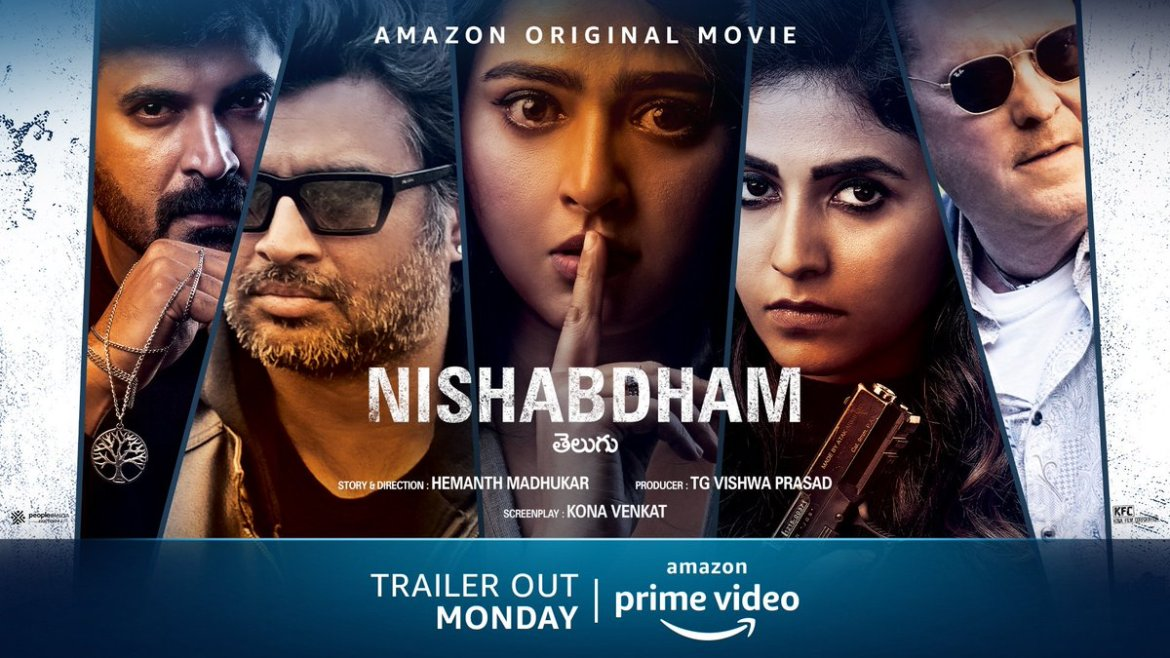 Nishabdham – Official Trailer (Telugu) | R Madhavan, Anushka Shetty | Amazon Original Movie | Oct 2