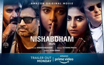 Nishabdham Trailier
