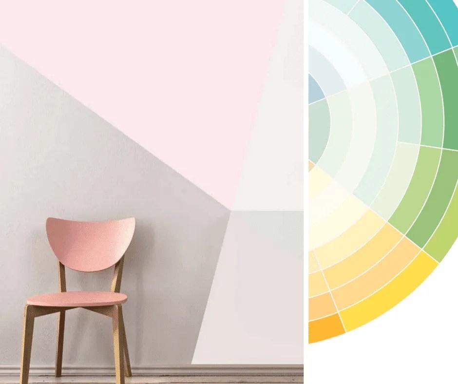 A ponte, colore bianco e lilla. Pitture Per Pareti Per Le Camerette Dei Bimbi Fillyourhomewithlove