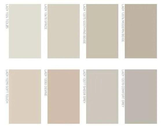 Per creare un soggiorno moderno elegante, perfetto l'utilizzo del grigio. Color Tortora Chiaro Perfetto Per Gli Ambienti Fillyourhomewithlove