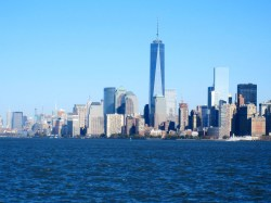 This shot was taken while we were aboard a cruise around Manhattan.