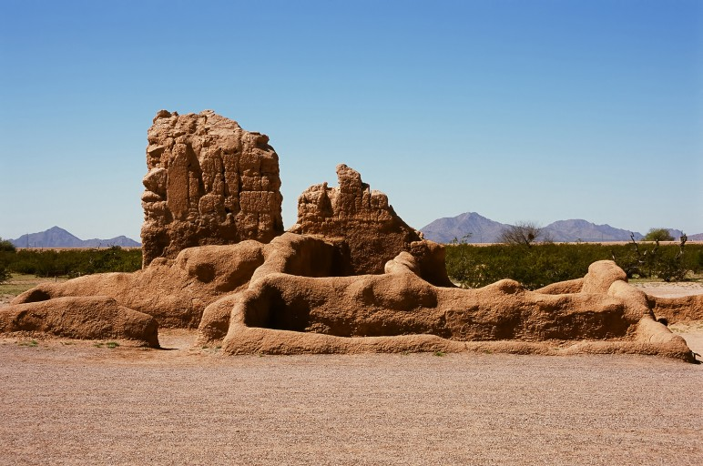 ... National Monument of the Pre-columbian Hohokam Indians in Arizona USA