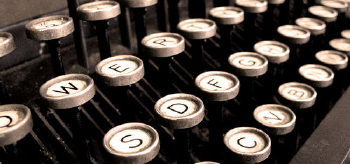 typewriter-header