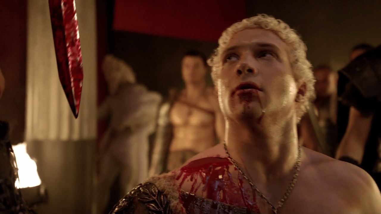 Lucy lawless viva bianca erin cummings nudes from spartacus 1