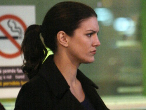 Gina Carano Haywire 2011 Set Photos 24