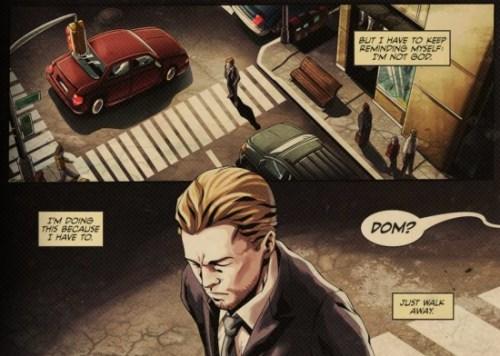 inception Comic Book, The Cobol Job, 1