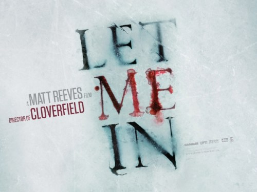 Let Me In, UK Movie Banner
