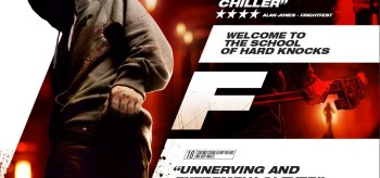 F (2010) Movie Poster