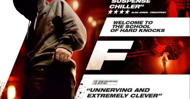 F (2010) Movie Poster