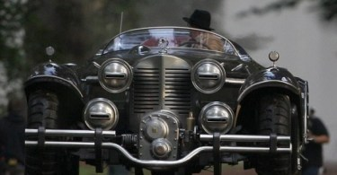 Captain America: The First Avenger Stunt Double Old Car Set Photos 6