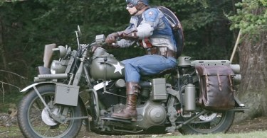 Captain America: The First Avenger Stunt Double Set Photos 2