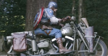 Captain America: The First Avenger Stunt Double Set Photos 3
