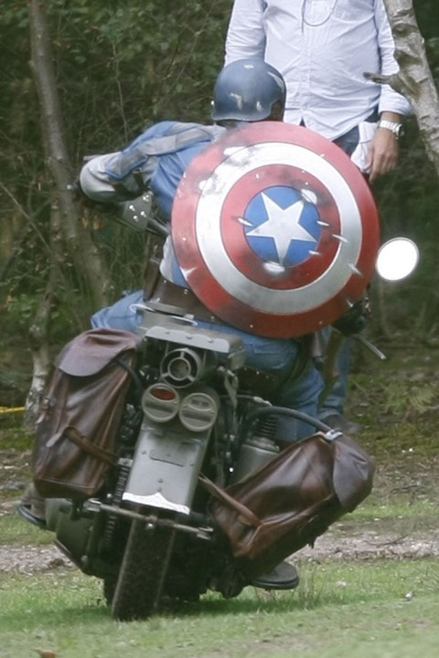 Captain America: The First Avenger Stunt Double Set Photos 5