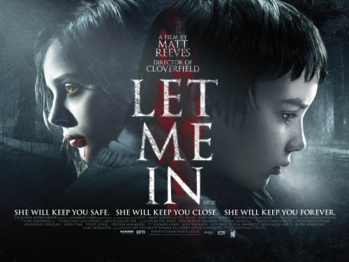 Let Me In, UK Quad Movie Poster