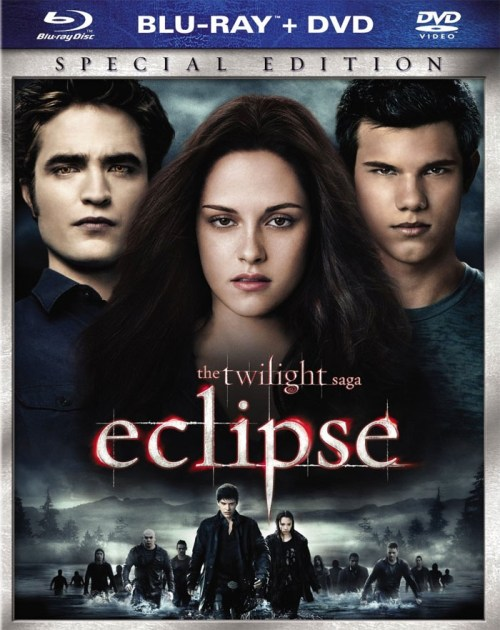The Twilight Saga: Eclipse Blu-ray DVD Combo Box Cover