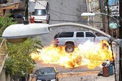 Fast Five, 2011, SUV explosion, 01