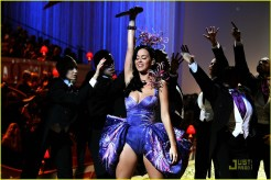 Katy Perry, Victoria's Secret Fashion Show 2010, Blue Dress, 01
