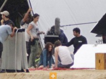 Robert Pattinson, Kristen Stewart, The Twilight Saga: Breaking Dawn, Isle Esme Set, 03