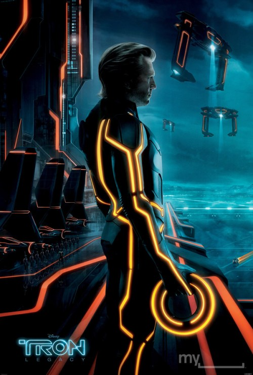 Tron: Legacy, Clu 2.0, Movie Poster