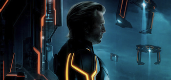 Jeff Bridges, Tron Legacy, Clu, Posters, TV Clips, Header