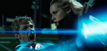 Alex Pettyfer, Teresa Palmer, I Am Number Four, 2011
