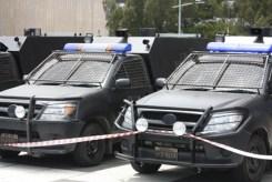 Mega-City One, Justice Department Trucks, Dredd, 2012, 02