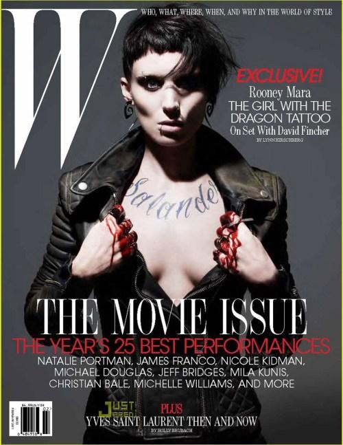 Ronney Mara, W Magazine, February 2011, Cover