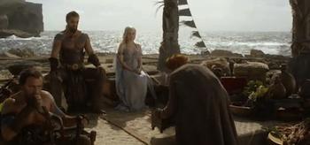Jason Momoa, Emilia Clarke, Game of Thrones