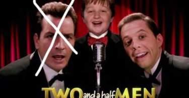 Jon Cryer, Angus T. Jones, minus Charlie Sheen, Two and A Half Men