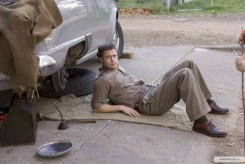 Brad Pitt, car repair, The Tree of Life, 01