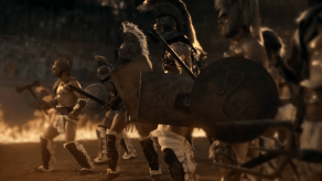 Fire Battle, Spartacus: Gods of the Arena, The Bitter End, 01