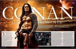 Jason Momoa, Conan the Barbarian, Empire Magazine April 2011, 01
