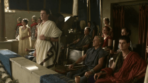 John Hannah, Lucy Lawless, Craig Walsh Wrightson, Spartacus: Gods of the Arena, The Bitter End, 02