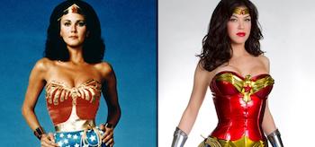 Adrianne Palicki, Lynda Carter, Wonder Woman