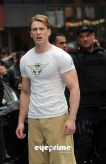 Chris Evans, Captain America: The First Avenger, New York City Set, 03