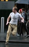 Chris Evans, Captain America: The First Avenger, New York City Set, 05