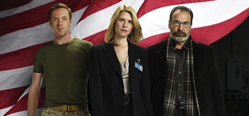 Claire Danes, Mandy Patinkin, Damian Lewis, Homeland, 02