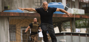 Dwayne Johnson, Vin Diesel, Fast Five