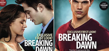 Kristen Stewart, Robert Pattinson, Taylor Lautner, The Twilight Saga: Breaking Dawn, The Entertainment Weekly May 2011 Covers