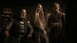 Mark Addy, Lena Headey, Jack Gleeson, Game of Thrones, The Kingsroad, 01