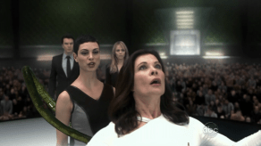 Laura Vandervoort, Christopher Shyer, Jane Badler, Morena Baccarin, V, Mother's Day, 01