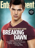 Taylor Lautner, The Twilight Saga: Breaking Dawn, The Entertainment Weekly May 2011 Cover