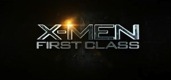 X-Men: First Class, movie trailer logo
