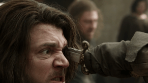 Sean Bean, Jamie Sives, Game of Thrones, The Wolf and the Lion