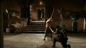 Maisie Williams, Sean Bean, Game of Thrones, Lord Snow, 02