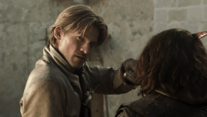 Nikolaj Coster-Waldau, Jamie Sives, Game of Thrones, The Wolf and the Lion