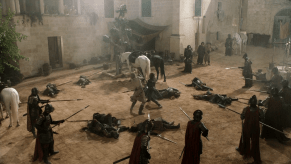 Nikolaj Coster-Waldau, Sean Bean, Game of Thrones, The Wolf and the Lion
