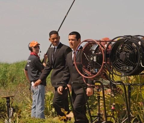 Will Smith, Josh Brolin, Men in Black 3, New York Set Photo, 01