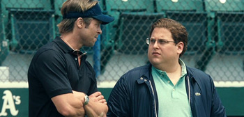 Brad Pitt, Jonah Hill, Moneyball, 2011
